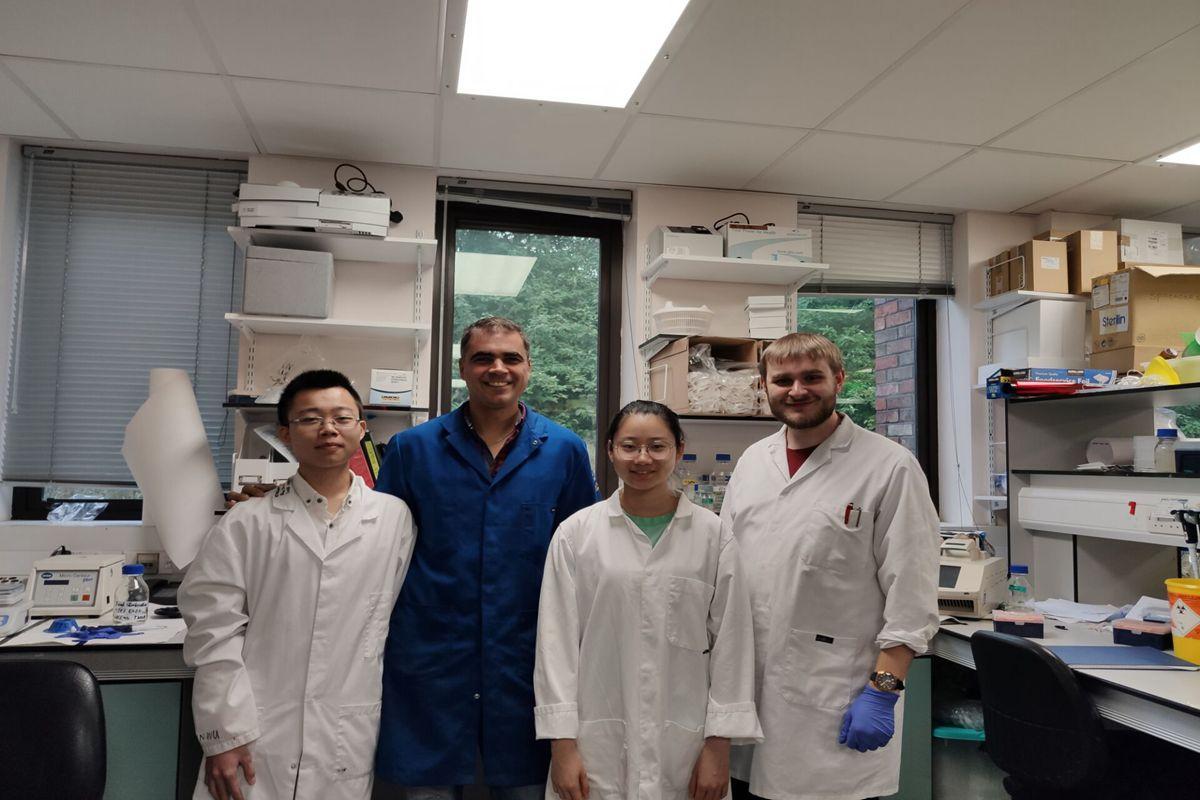 生命科学技术学院5名同学在英国杜伦大学参加为期3个月的暑期实验室研修