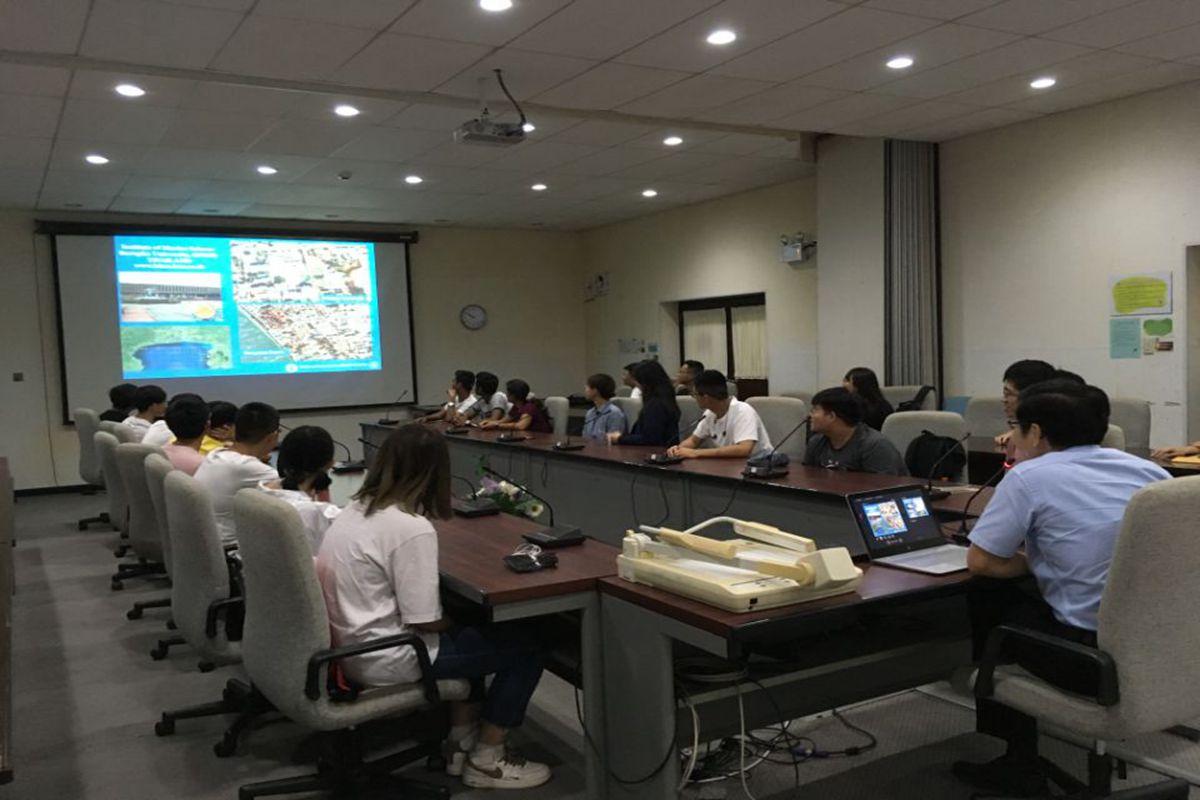 水产学院18名师生赴泰国亚洲理工学院参加暑期访学交流活动