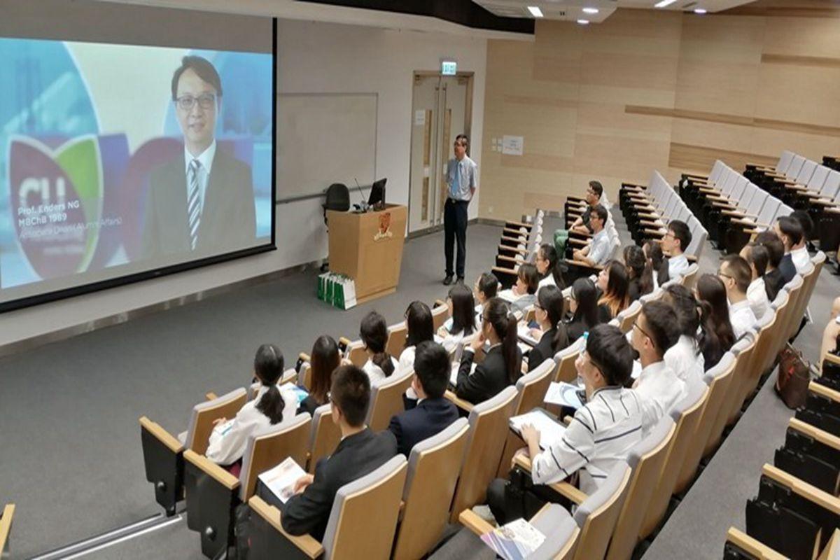 信息学院30名师生在香港中文大学和香港城市大学开展短期学习交流