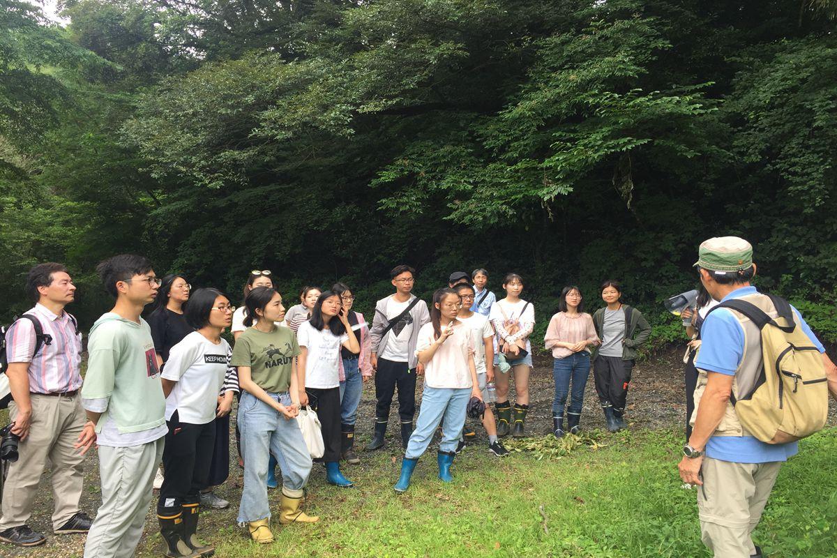 植物科学技术学院16名师生在日本鹿儿岛大学开展为期1周的学习交流活动