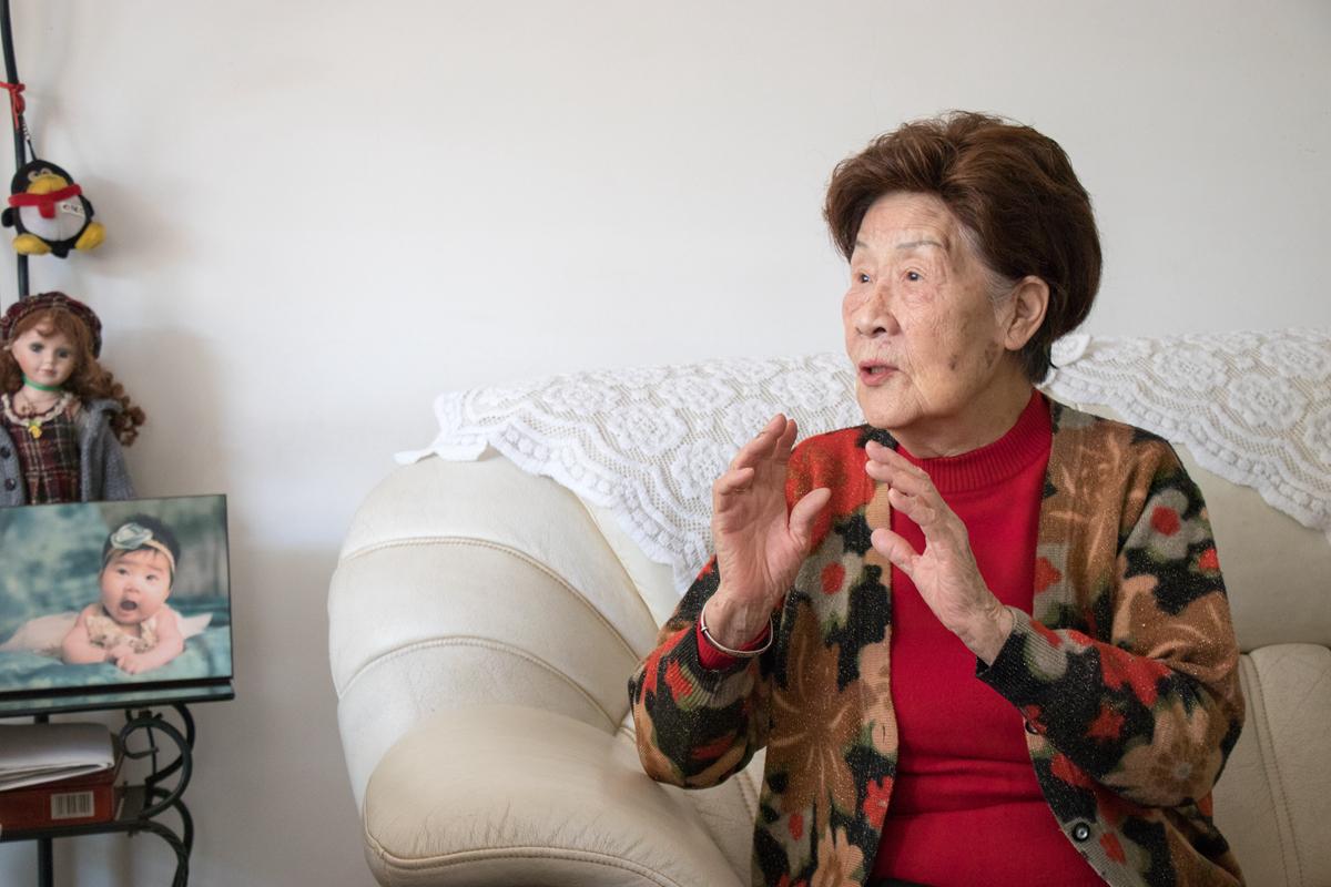 刘良玉老师在发表自己对于讲述对于不忘初心的看法【学通社记者 连雨婷】