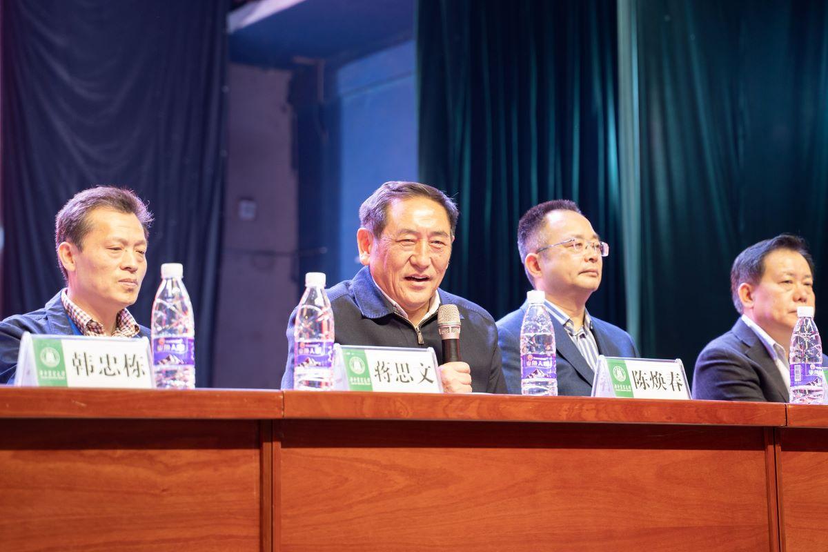 陈焕春宣布第三届全国大学生动物科学专业技能大赛开幕(供图 陈赞 )