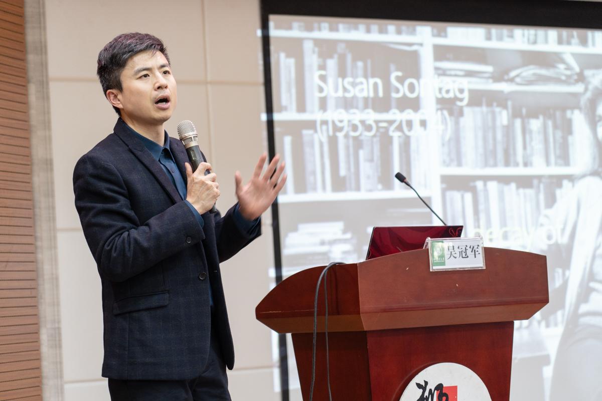 吴冠军做客狮子山讲坛谈短视频时代电影体验