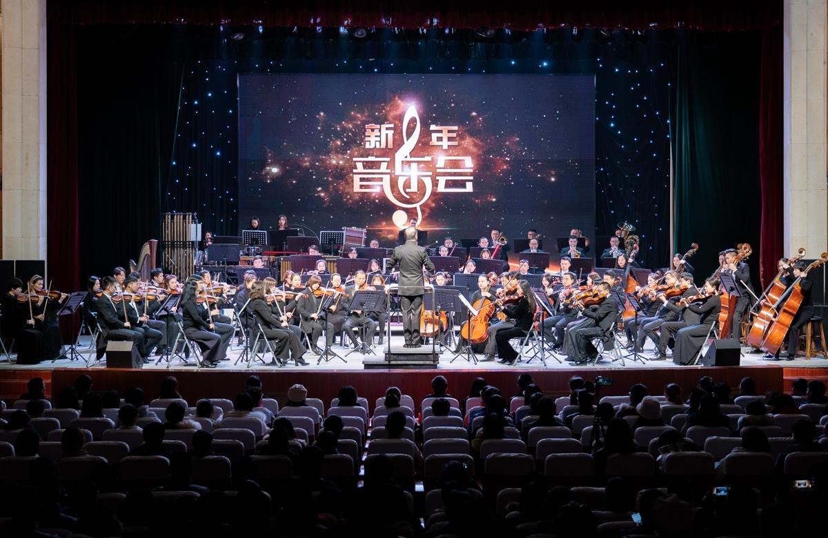 音乐会现场 【学通社记者 刘博文 摄】