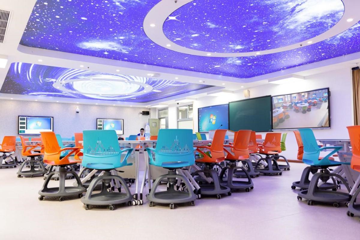 三教B202智慧教室(记者 彭雨格 摄)