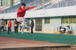 备赛校运会:运动场上的青春律动