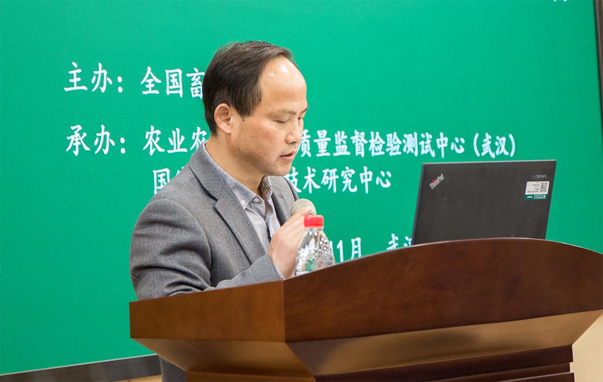 王建鸿副校长在开班仪式上致辞