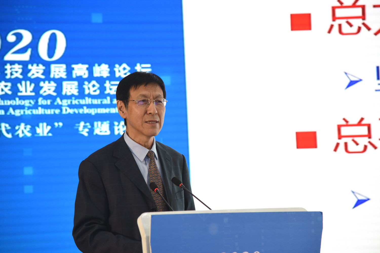 中国农业大学柯炳生教授作报告