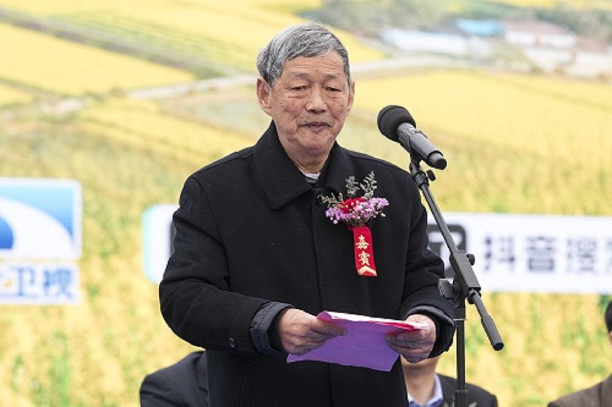 傅廷栋在开幕式上发言。    刘涛摄