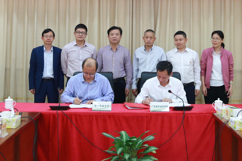 李召虎与陆华忠签订校院战略合作协议