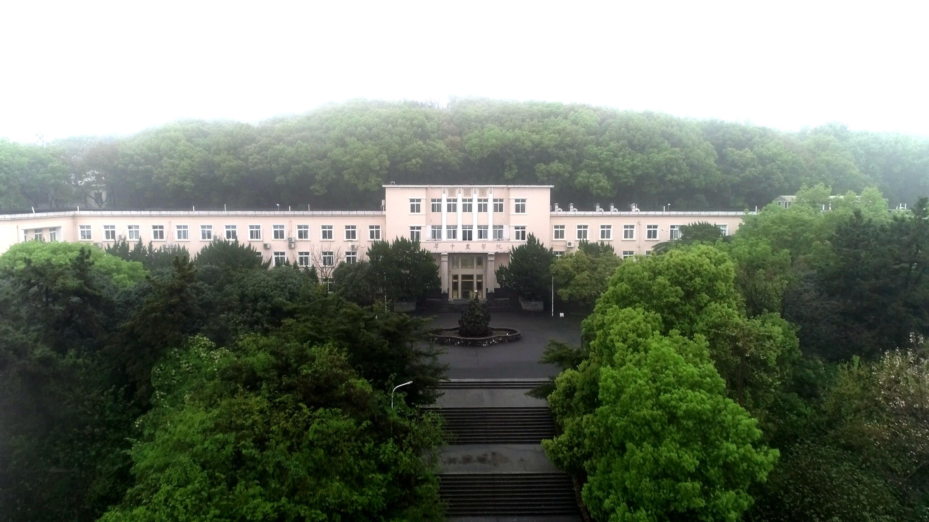 华中农业大学主楼(戴壮 摄)
