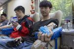时隔481天,献血车重回校园