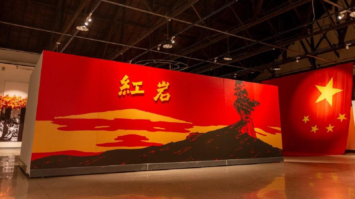 华中农大主题展厅一角。(彭雨格 摄)