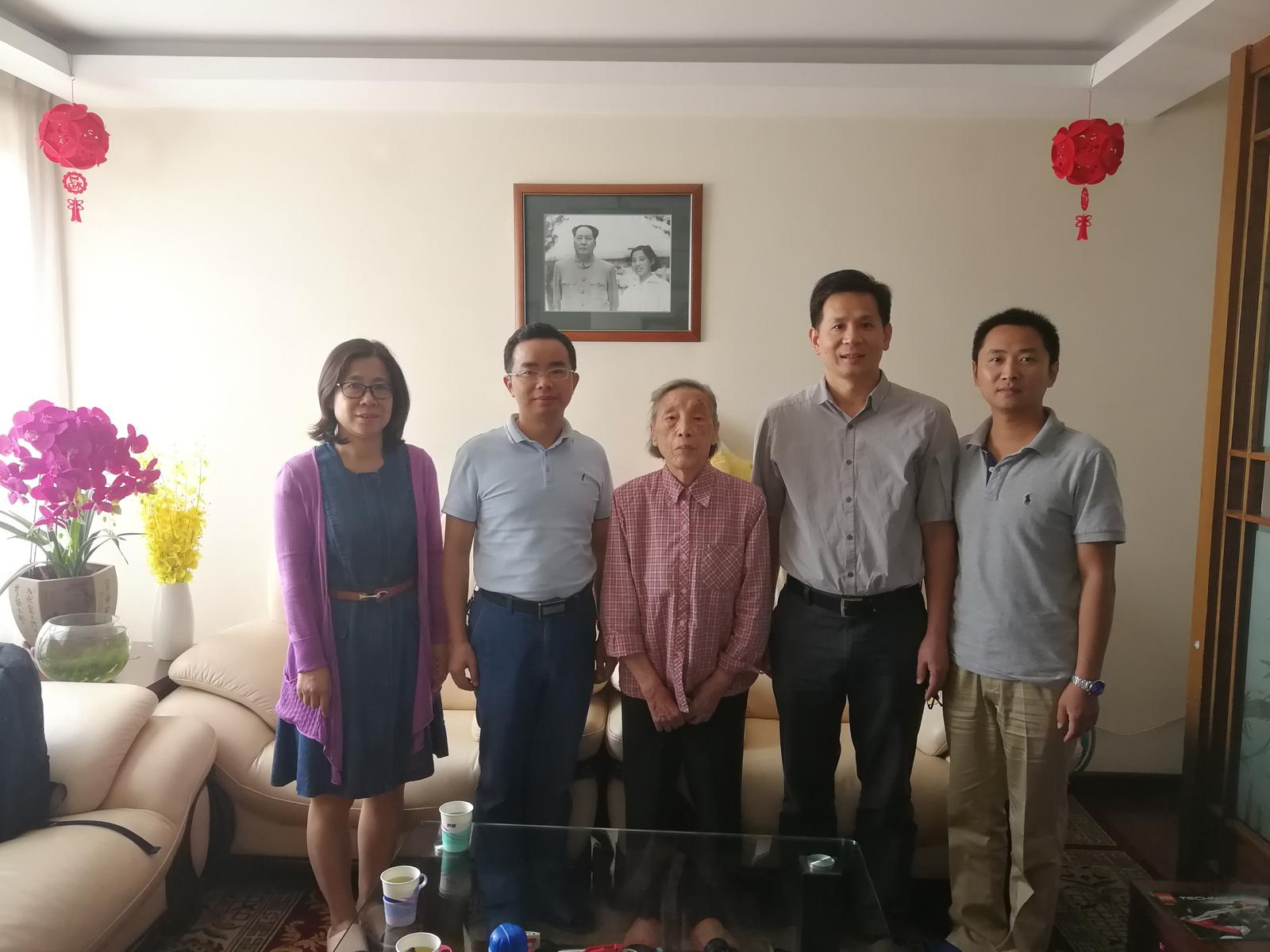 拜访中国农业大学陈文新院士