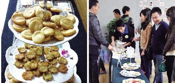 """【楚天都市报】华农举办""""全鸡宴"""":鸡骨制饼干 鸡肋变高汤"""